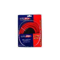 Cable Alimentation Cable alimentation 10mm2 - 5m rouge - 0.8m noir Caliber