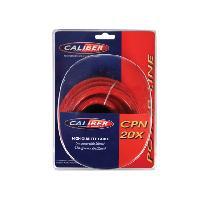 Cable Alimentation Cable alimentation 20mm2 - 5m Rouge - 0.8m Noir Caliber