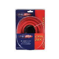 Cable Alimentation Cable alimentation 25mm2 - 5m rouge - 0.8m noir Caliber