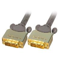 Cable Audio Video Cable DVI-D GOLD SLD Single Link - 15m