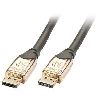 Cable Audio Video Cable DisplayPort GOLD - 1m