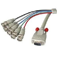 Cable Audio Video Cable VGA HD-15 a 5BNC Males - 5m
