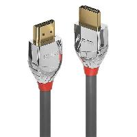 Cable Audio Video LINDY Câble HDMI High Speed - Cromo Line - 0.3m