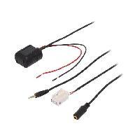 Cable Autoradio, AUX, telecommande Adaptateur Bluetooth compatible avec Audi A4 A5 Q5