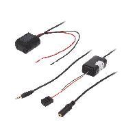 Cable Autoradio, AUX, telecommande Adaptateur Bluetooth compatible avec BMW Serie 3 E36 E46