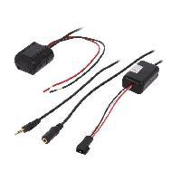 Cable Autoradio, AUX, telecommande Adaptateur Bluetooth compatible avec BMW Serie 5 7 X5