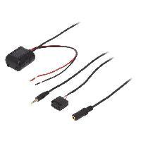 Cable Autoradio, AUX, telecommande Adaptateur Bluetooth compatible avec Ford Focus Fusion Transit