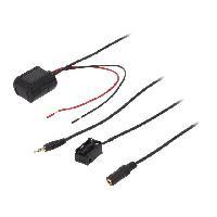 Cable Autoradio, AUX, telecommande Adaptateur Bluetooth compatible avec Opel Astra Tigra Zafira