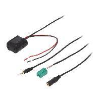 Cable Autoradio, AUX, telecommande Adaptateur Bluetooth compatible avec Renault CAN-Bus
