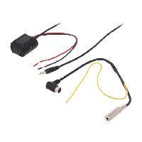 Cable Autoradio, AUX, telecommande Adaptateur Bluetooth compatible avec Volkwagen Autoradio MFD 1