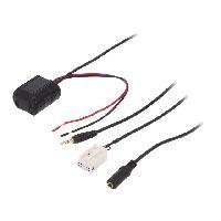 Cable Autoradio, AUX, telecommande Adaptateur Bluetooth pour Mercedes Classe A B C CL CLK GL M RS SL ADNAuto