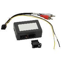 Cable Autoradio, AUX, telecommande Adaptateur systeme actif fibre optique Most25 compatible avec Mercedes