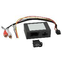Cable Autoradio, AUX, telecommande Adaptateur systeme actif fibre optique Most25 compatible avec Mercedes et Porsche