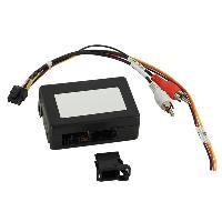 Cable Autoradio, AUX, telecommande Adaptateur systeme actif fibre optique Most25 pour BMW serie 1 3 5 ADNAuto