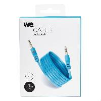 Cable D'alimentation WE Cable JackJack plat 1m50 bleu