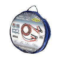 Cable De Demarrage - Ecreteur De Surtension CableS DE DEMARRAGE PROFESSIONNELS 50MM2X5M 600A -JUSQU'a 9.5L - Ring