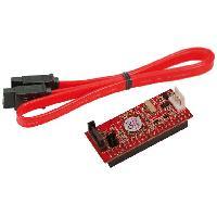 Cable E-sata Convertisseur IDE vers SATA avec cable - connection dessous - LogiLink