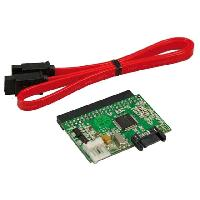 Cable E-sata Convertisseur IDE vers SATA avec cable - connection sur cote - LogiLink