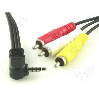 Cable Jack - Rca CORDON JACK AV 1.5M - ADNAuto