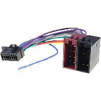 Cable Specifique Autoradio ISO Cable Autoradio AvI206 Sony 16PIN Vers ISO - connecteur 1 ADNAuto