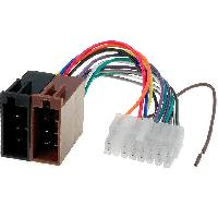 Cable Specifique Autoradio ISO Cable Autoradio Clarion 16PIN Vers ISO - connecteur blanc 2 ADNAuto