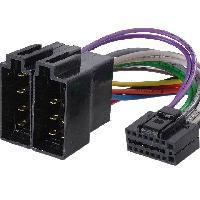 Cable Specifique Autoradio ISO Cable Autoradio Clarion VDO 16PIN Vers ISO