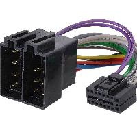 Cable Specifique Autoradio ISO Cable Autoradio Clarion VDO 16PIN Vers ISO ADNAuto