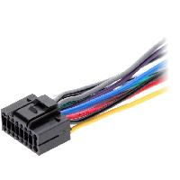 Cable Specifique Autoradio ISO Cable Autoradio JVC 16PIN Fils nus 2 ADNAuto