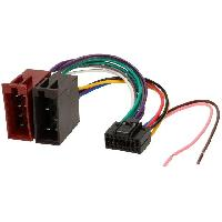 Cable Specifique Autoradio ISO Cable Autoradio JVC 16PIN vers ISO Femelle ADNAuto