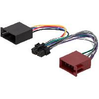 Cable Specifique Autoradio ISO Cable Autoradio LG 12PIN Vers ISO separe - connecteur marron ADNAuto