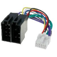 Cable Specifique Autoradio ISO Cable Autoradio Panasonic 12PIN Vers ISO ADNAuto