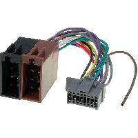 Cable Specifique Autoradio ISO Cable Autoradio Panasonic 16PIN Vers ISO- connecteur marron 1