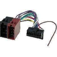 Cable Specifique Autoradio ISO Cable Autoradio Panasonic 16PIN Vers ISO- connecteur marron 2