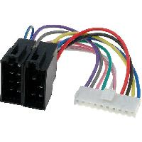 Cable Specifique Autoradio ISO Cable Autoradio Pioneer 10PIN Vers Iso ADNAuto