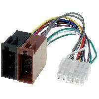 Cable Specifique Autoradio ISO Cable Autoradio Pioneer 12PIN Vers Iso- connecteur blanc 1