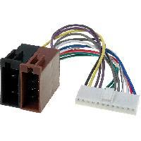 Cable Specifique Autoradio ISO Cable Autoradio Pioneer 12PIN Vers Iso- connecteur blanc 2