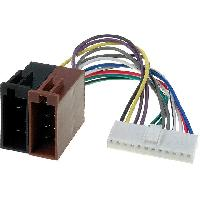 Cable Specifique Autoradio ISO Cable Autoradio Pioneer 12PIN Vers Iso- connecteur blanc 2 ADNAuto