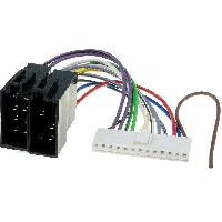 Cable Specifique Autoradio ISO Cable Autoradio Pioneer 13PIN Vers Iso ADNAuto