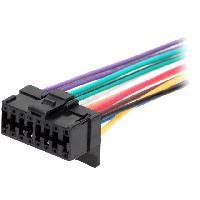Cable Specifique Autoradio ISO Cable Autoradio Pioneer 16PIN Fils nus - connecteur noir 3