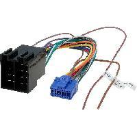 Cable Specifique Autoradio ISO Cable Autoradio Pioneer 16PIN Vers Iso - connecteur bleu ADNAuto