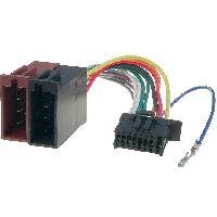 Cable Specifique Autoradio ISO Cable Autoradio Pioneer 16PIN Vers Iso - connecteur noir 2 ADNAuto