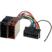Cable Specifique Autoradio ISO Cable Autoradio Pioneer 16PIN Vers Iso - connecteur noir 3 ADNAuto