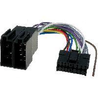 Cable Specifique Autoradio ISO Cable Autoradio Pioneer 16PIN Vers Iso noir 1