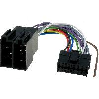Cable Specifique Autoradio ISO Cable Autoradio Pioneer 16PIN Vers Iso noir 1 ADNAuto