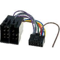 Cable Specifique Autoradio ISO Cable Autoradio Pioneer 16PIN Vers Iso noir 2
