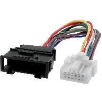 Cable changeur CD Adaptateur pour changeur de CD pour Audi VW Panasonic 0.15m ADNAuto