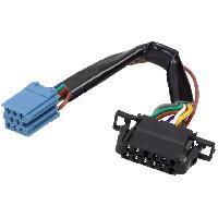 Cable changeur CD Cable Autoradio compatible avec changeur CD ISO mini 8pin vers 12pin compatible avec Audi VW 0.15m
