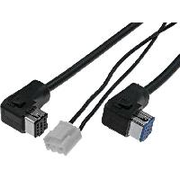 Cable changeur CD Cable Autoradio compatible avec changeur CD Pioneer 5.5m