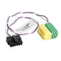 Cable lead Cable lead compatible avec autoradio Blaupunkt et interface commande au volant