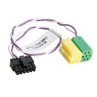 Cable lead Cable lead pour autoradio Blaupunkt et interface commande au volant